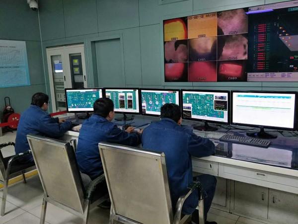 华能电厂见习图片