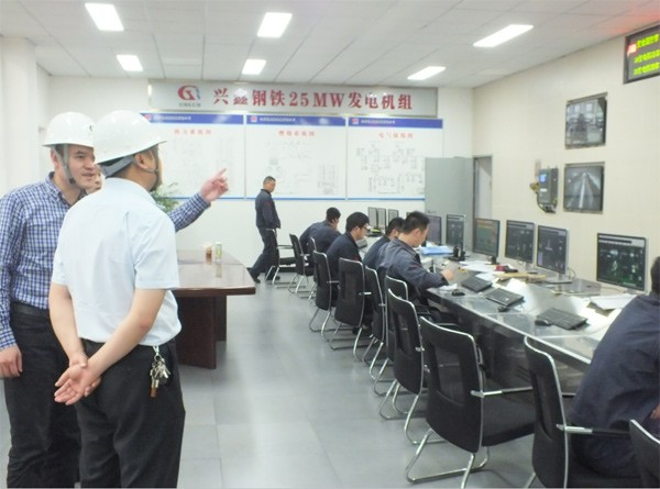 江苏发电厂运行现场
